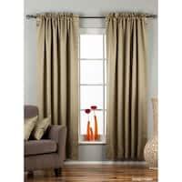 Olive Green Rod Pocket 90% blackout Curtain / Drape / Panel  - Piece