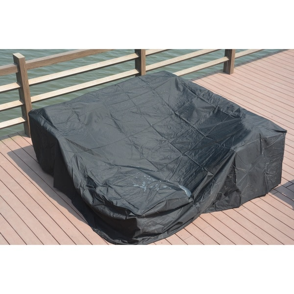 Plus Large Square Patio Dining and Sofa Set Cover by Direct Wicker