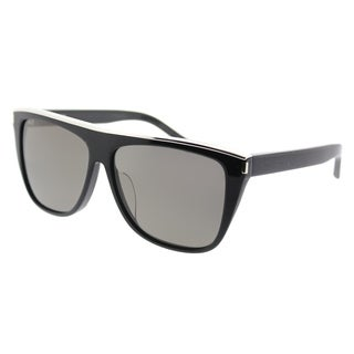 Saint Laurent Fashion SL 1/F Combi 001 Women Black Frame Grey Lens Sunglasses