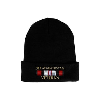 Operation Enduring Freedom Veteran OEF Afghanistan Knit Hat