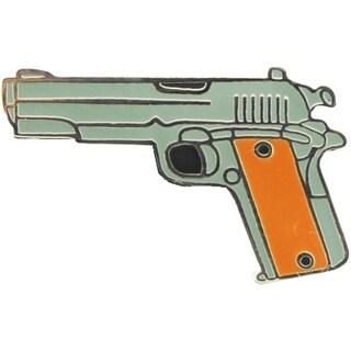Gun 45 Caliber Pistol Military Pin