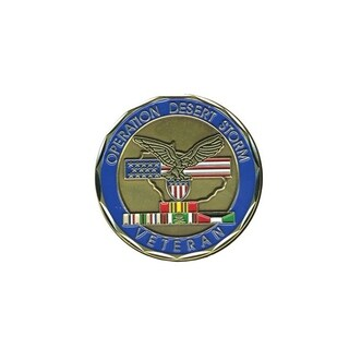 Operation Desert Storm Veteran Double Sided Collectible Coin