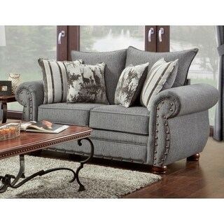 American Furniture Classics Model B3102-ERSL Elk River Storm Loveseat