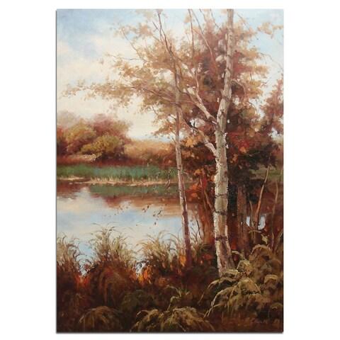 """""""Autumn Farm"""", Fine Oil Painting on 24""""*36"""" canvas - 24 x 36"""