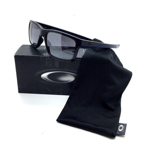 592076b794125 Shop Oakley Black Sunglasses Navy Mainlink Iridium Polished - Free Shipping  Today - Overstock.com - 18542084