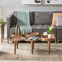 Ink+Ivy Oden Pecan Finish Wood Coffee Table