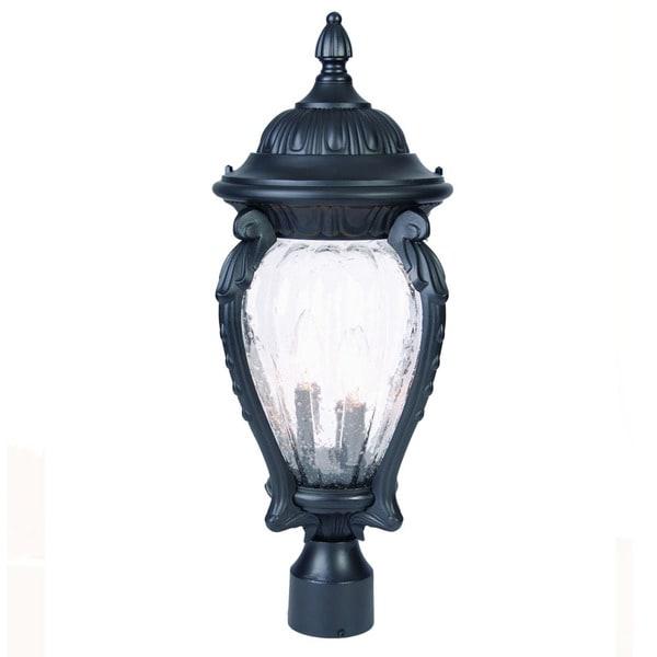 Acclaim Lighting Somerset 1 Light Matte Black Outdoor Post: Shop Acclaim Lighting Nottingham Collection Post-Mount 3