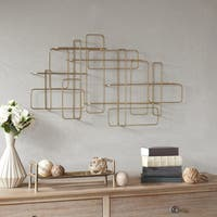 Madison Park Signature Artemis Gold Wall Decor