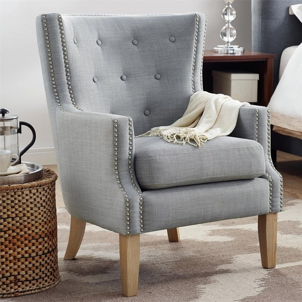Shop Avenue Greene Anika Accent Chair Free Shipping Today