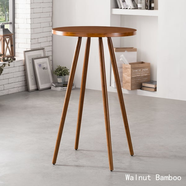 Bar Table And Chairs For Sale: Shop Corvus Lille Mid-century Bamboo Bar Table
