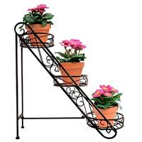 3 Tiered Flower Stand - Bronze