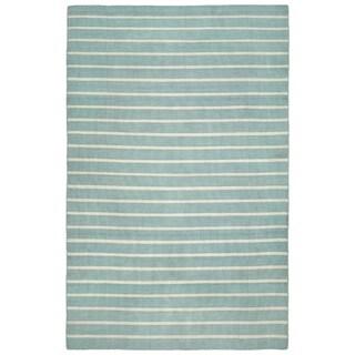 Liora Manne Sorrento Pinstripe Stripe Outdoor Rug (7'6 x 9'6)