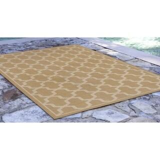 Tiles Outdoor Rug (3'3 x 4'11) - 3'3 x 4'11
