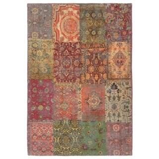 Oriental Tile Rug - 1'8 x 2' 6