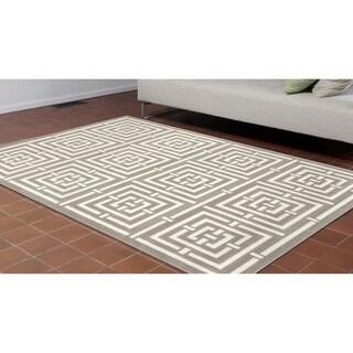 Liora Manne Labyrinth Rug (4'10 x 7'6) - 4'10 x 7'6