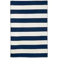 Wide Stripe Outdoor Rug - 5' x 7'6