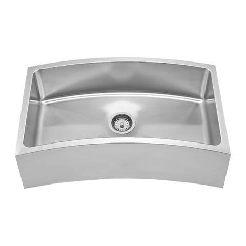 Whitehaus Collection Noah's Front Apron Sink