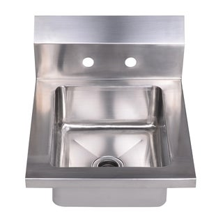 Whitehaus Collection Noah's Small Utility Drop-in/Wall Mount Hand Sink