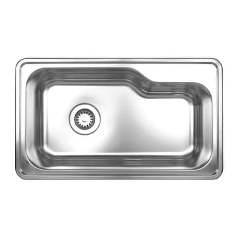 Whitehaus Collection Noah's Drop-in Sink