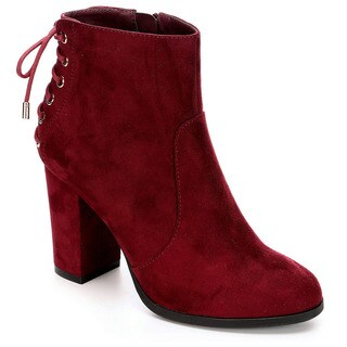 Limelight Womens Celeste High Heel Ankle Bootie Shoes