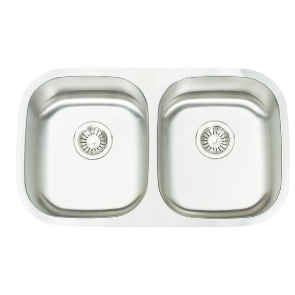 Artisan Premium Series 16 Gauge Double Bowl Stainless Steel Sink