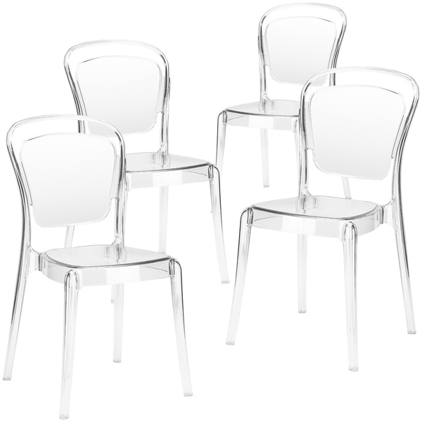 Poly and Bark Lucent Dining Side Chair (Set of 4). Opens flyout.