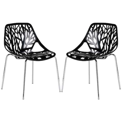 EdgeMod Birds Nest Dining Side Chair (Set of 2)