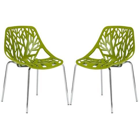 EdgeMod Birds Nest Dining Side Chair (Set of 2)