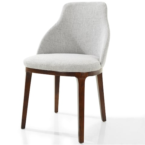 EdgeMod Caroline Dining Chair in Light Grey