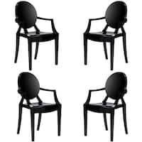 Poly and Bark Burton Arm Chair (Set of 4)