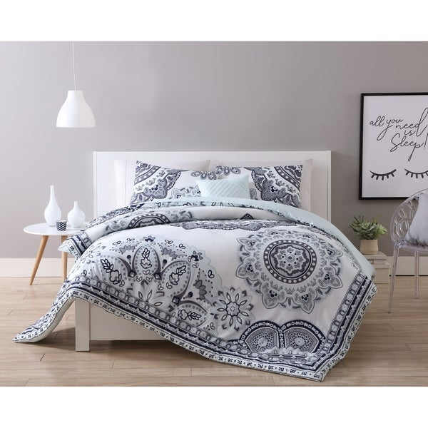f2132de1df37 Shop VCNY Home Kaya Reversible Comforter Set - Free Shipping Today ...