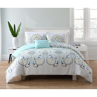 VCNY Home Amherst 4-piece Reversible Comforter Set