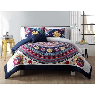 VCNY Home Ahimsa 4-piece Comforter Set