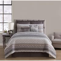 VCNY Home Mateo Jacquard Comforter Set