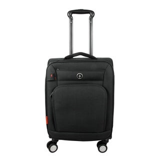 Swissdigital Sion Upright Carry-on 20-inch Suitcase in Grey