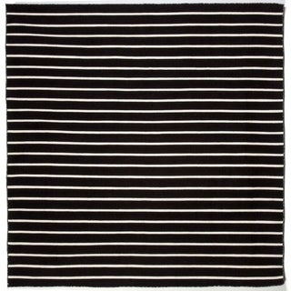 Tailored Synthetic Stripe indoor/Outdoor Area Rug (8' x 8')