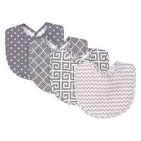 Trend Lab Ombre Grey 4 Pack Bib Set