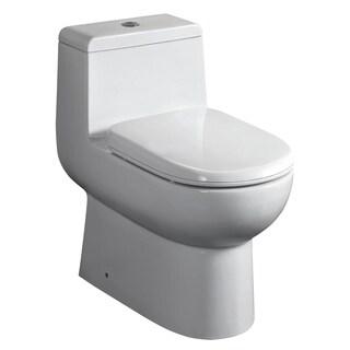 Whitehaus Collection Magic Flush Eco-Friendly One Piece Toilet