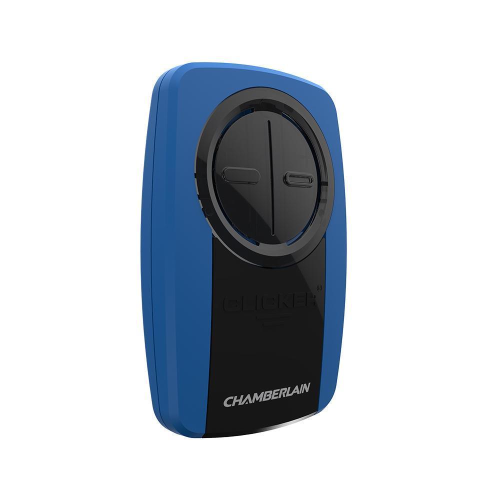 Chamberlain KLIK3U-BL2 Blue/Black Universal Garage Door R...