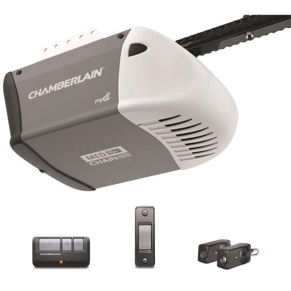 Shop Chamberlain C203 1 2 Horsepower Ac Chain Drive Garage