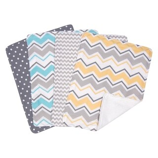 Trend Lab Zigzag 4 Pack Burp Set