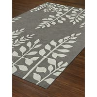 Addison Taylor Lively Pewter/Ivory Area Rug - 9' x 13'