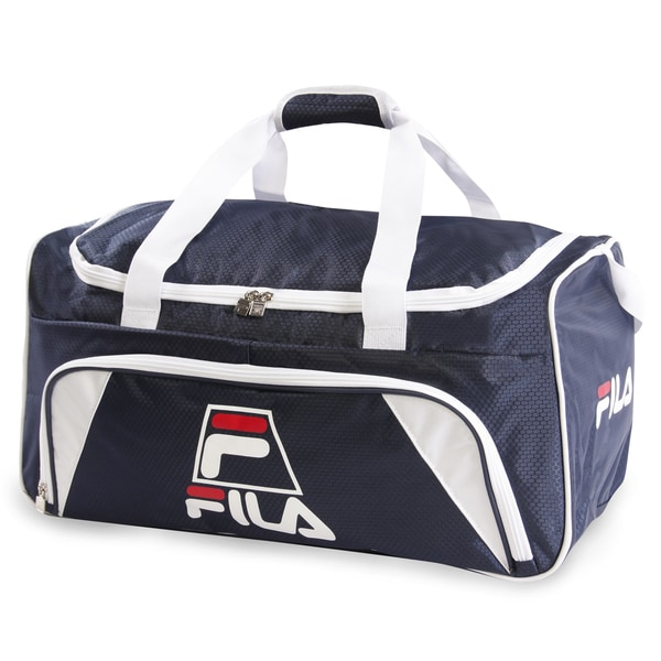 1d200ef1f5b2 Shop Fila Crew Medium Sports Duffel Bag - Free Shipping On Orders ...