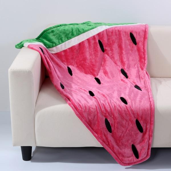 Berkshire Blanket Better Living Watermelon Toasty Tail Throw ...