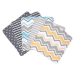 Trend Lab Zigzag 5 Pack Wash Cloth Set
