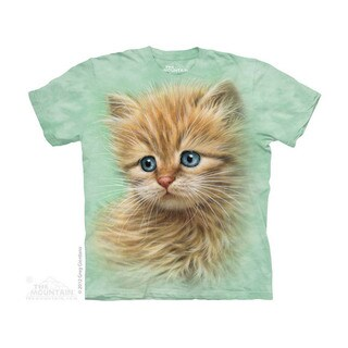 THE MOUNTAIN KITTEN PORTRAIT YOUTH T-SHIRT