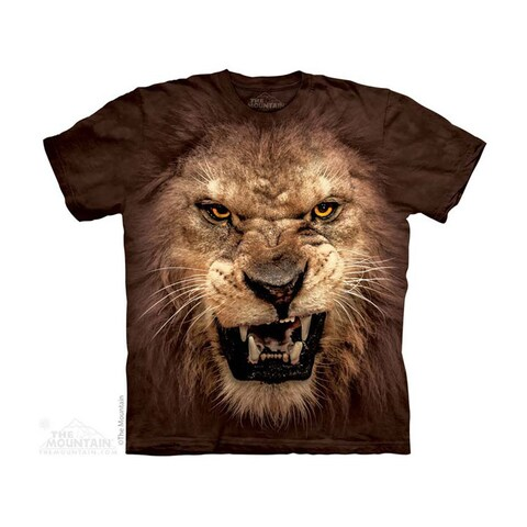 THE MOUNTAIN BIG FACE ROARING LION YOUTH T-SHIRT