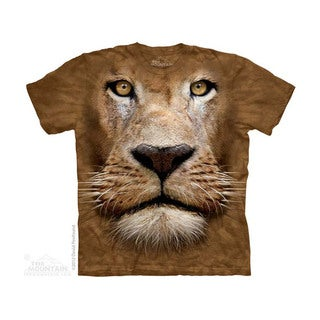 THE MOUNTAIN LION FACE YOUTH T-SHIRT