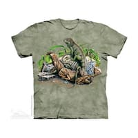 THE MOUNTAIN FIND 10 IGUANAS YOUTH T-SHIRT