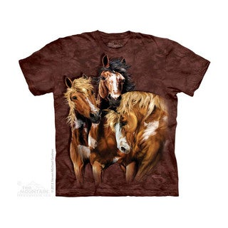 THE MOUNTAIN FIND 8 HORSES YOUTH T-SHIRT